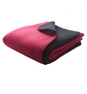 Bonded fleeceplaid | to-farvet