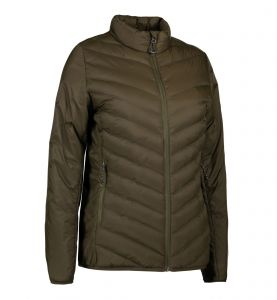 Padded stretch jacket | dame