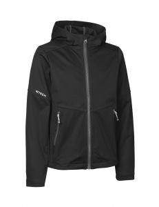 Letvægts softshell jakke   kontrast