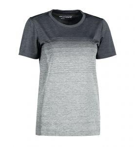 Women seamless striped s/s T-shirt