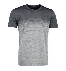 Man seamless striped s/s T-shirt