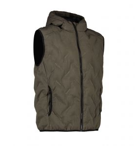 Man quilted vest