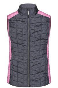 Ladie's Knitted Hybrid Vest