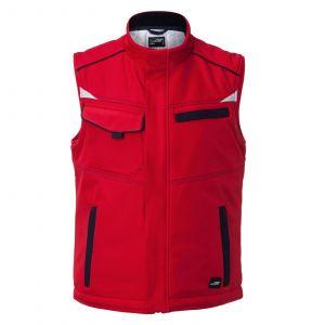 Workwear Softshell Padded Vest - COLOR -