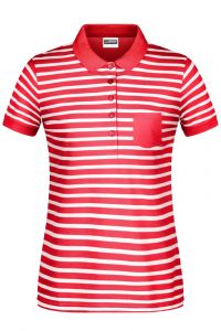 Ladies' Polo Striped