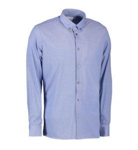 Fit langærmet jerseyskjorte til mænd