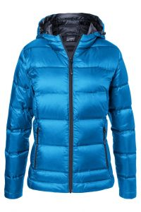 Ladies' Hooded Down Jacket