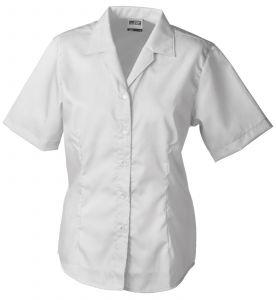 Ladies' Business Blouse Short-Sleeved
