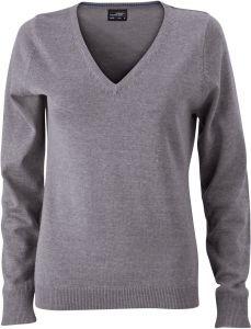 Ladies' V-Neck Pullover
