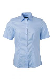 Ladies' Shirt Shortsleeve Micro-Twill