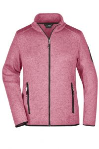 Ladies' Knitted Fleece Jacket