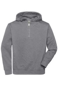 Organic workwear half zip
