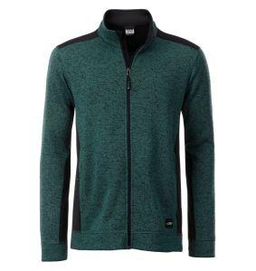 Men's Knitted Workwear Fleece Jacket - STRONG -