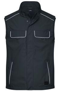 Workwear Softshell Light Vest - SOLID -