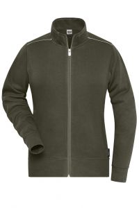 Ladies' Workwear Sweat-Jacket - SOLID -